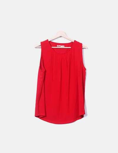 T-shirt rouge Sfera