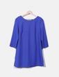 Vestido azul detalle lazo NoName