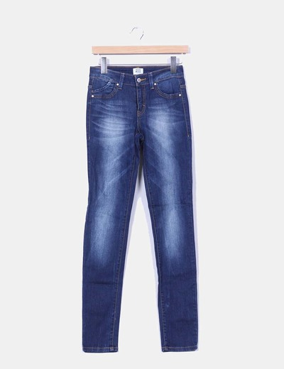 Jeans couleur foncée skinny Vero Moda