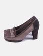 Zapato mocasín marrón Geox