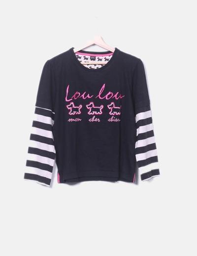 T-shirt Lou lou