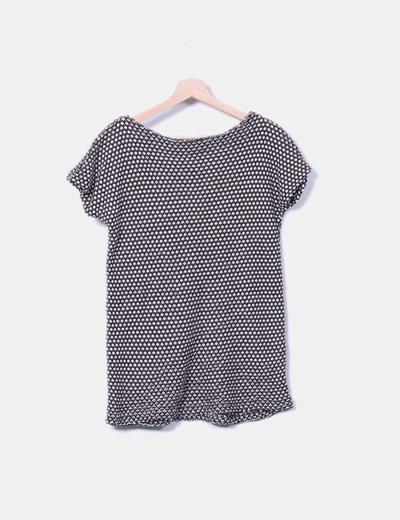 Jersey de punto combinado sin mangas detalle cremalleras