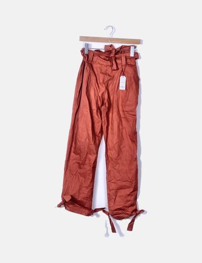 Pantalón caldera con lazo