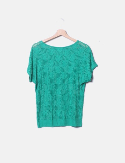 Camisa de malha verde NoName