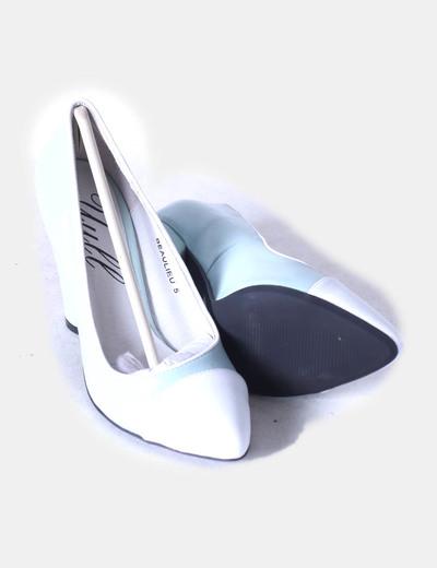 Zapatos heels beaulieu azul claro