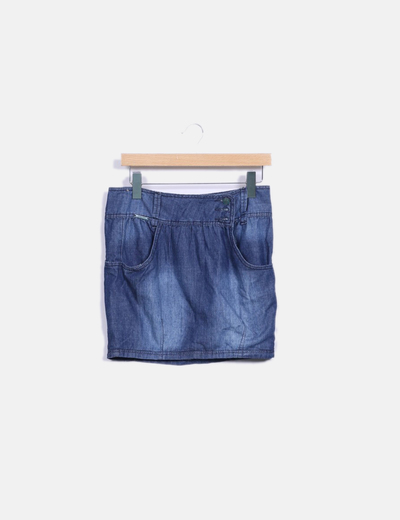 Mini-jupe denim Inside