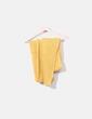 Bufanda de punto amarillo Desigual