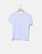 Camiseta blanca pestañas NoName