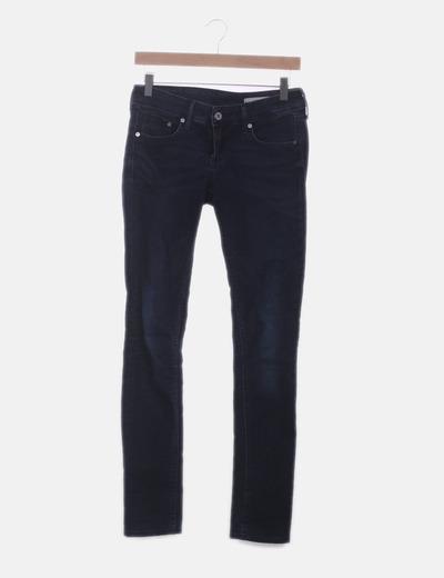 Jeans pitillos azules