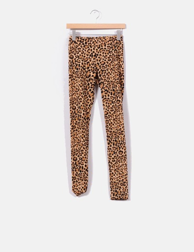 Leggings estampado leopardo H&M