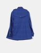 Abrigo azul marino texturizado Stradivarius