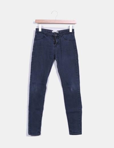 Jeans denim pitillo elástico Bershka