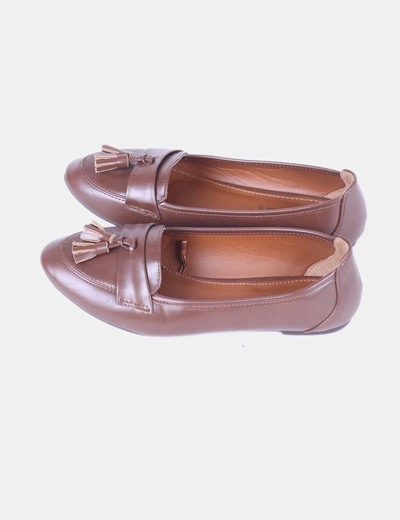 Mocassin tasseled marron Lefties