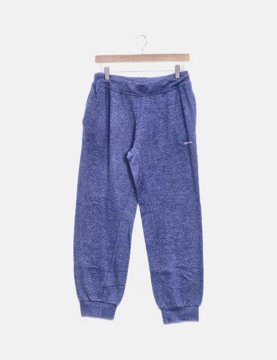 Pantalón deportivo azul