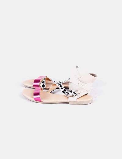 Sandales plates Blog