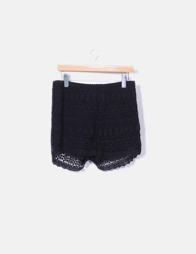 Short crochet negro