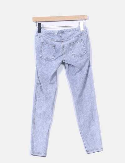 Jeggings denim claro