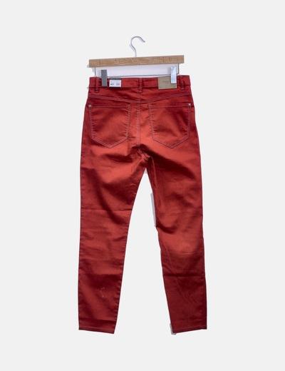 comprar popular 8a1f4 34212 Pantalón denim rojo