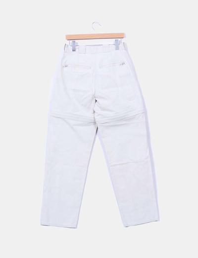 Pantalon beige safari desmontable