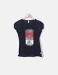 T-shirt preta moschino Moschino