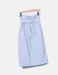 Falda azul abotonada Cielo lulu