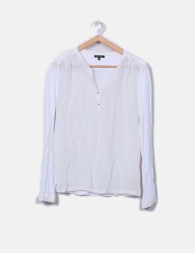 Camiseta blanca combinada
