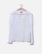Camiseta blanca combinada Massimo Dutti