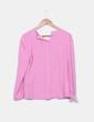 Blusa rosa con chorrera Rosalita McGee