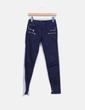 Jeans denim pitillo azul marino Zara