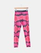 Legging rosa y negro estampado Culito From Spain