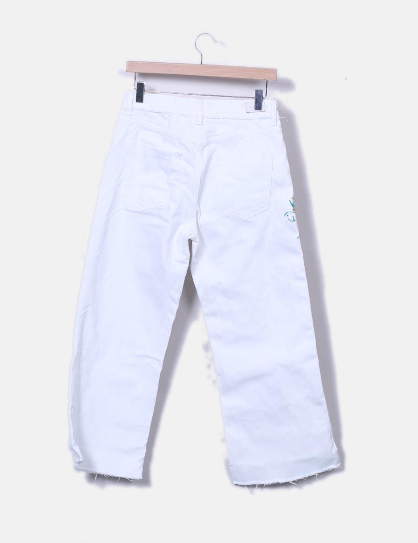 75c371976 W07f8 Blanco Pantalón Ancho Zara Baratos Mujer Pantalones xYvwtAwq