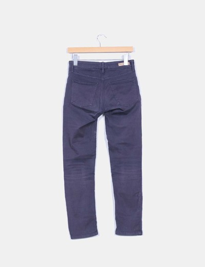 Pantalon elastico azul marino