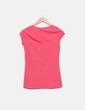 Camiseta rosa print girl Stradivarius