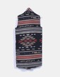 Capa de lana jacquard étnico ONLY