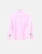 Camisa rosa franja floral Antoine