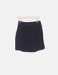 Mini falda negra cruzada H&M