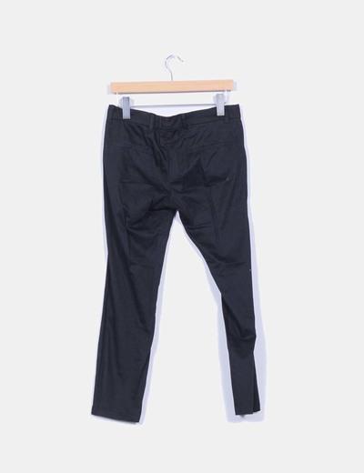 Pantalon de pinzas negro
