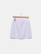 Minifalda paño gris cuadros New Look