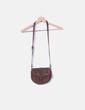 Bolso mini marrón ante Zara