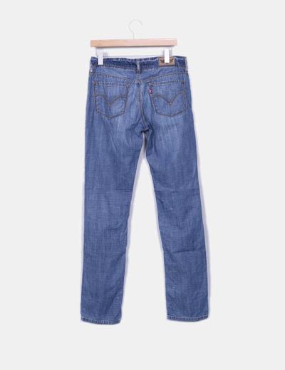 Jeans azul denim