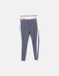Pantalón baggy gris Zara