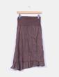 Falda marrón asimétrica NoName