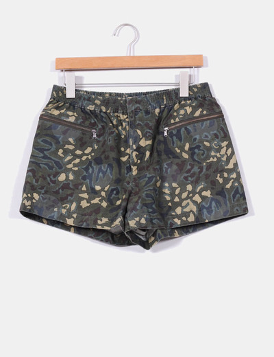 Shorts estampado militar Marc Jacobs