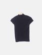 Camiseta tricot negro manga corta Bimba&Lola