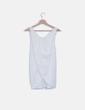 Camiseta tricot blanco Zara