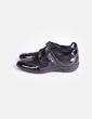 Zapato deportivo negro Geox