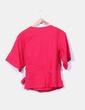 Blusa cruzada color frambuesa H&M