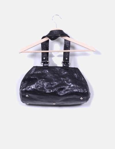 Bolso negro de hombro