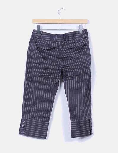 Pantalon pirata gris marengo raya diplomatica
