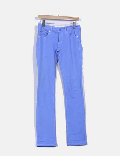 Pantalón azul Silvian Heach